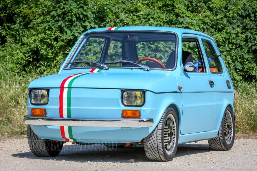 Polski Fiat Abarth With Images Fiat 126 Fiat Fiat Cars