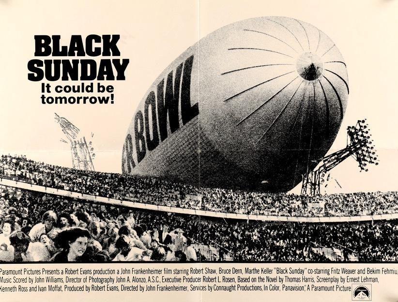 Black Sunday (1977) | Movie posters, Movie posters vintage, Sunday movies