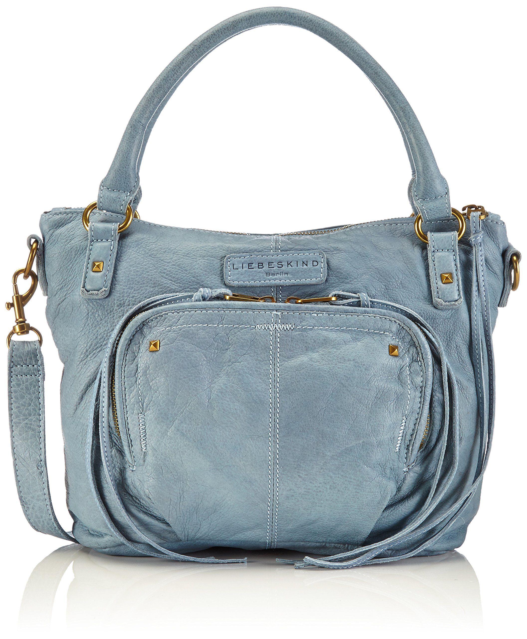689094e15ac Amazon.com  Liebeskind Berlin Gina F Shoulder Bag, Black, One Size  Shoes