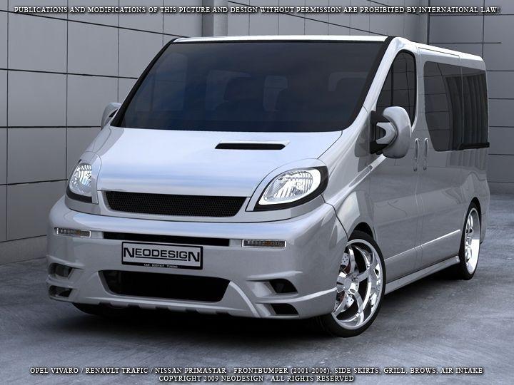 Betere Opel Vivaro Komplettvers Spoiler Set Body Kit Tuning Umbau neu NJ-14
