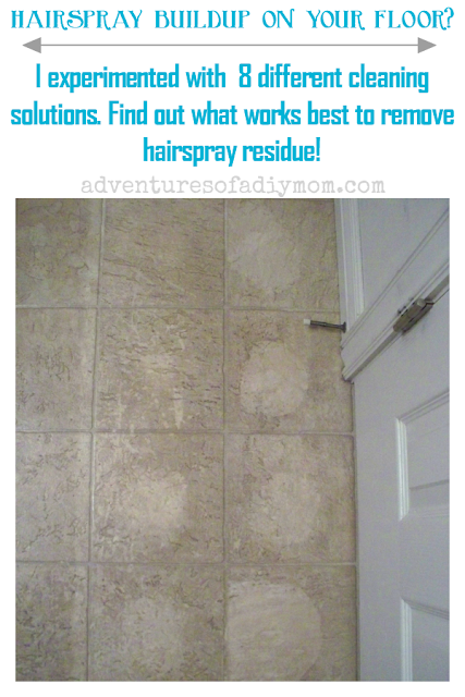 Hairspray Buildup On Your Bathroom Floor Have You Tried In Vain To Remove It I Was In The Same Situ House Cleaning Tips Deep Cleaning Tips Cleaning Solutions