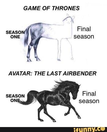 Game Of Thrones Avatar The Lastairbender Ifunny Avatar Funny Spongebob Memes Memes
