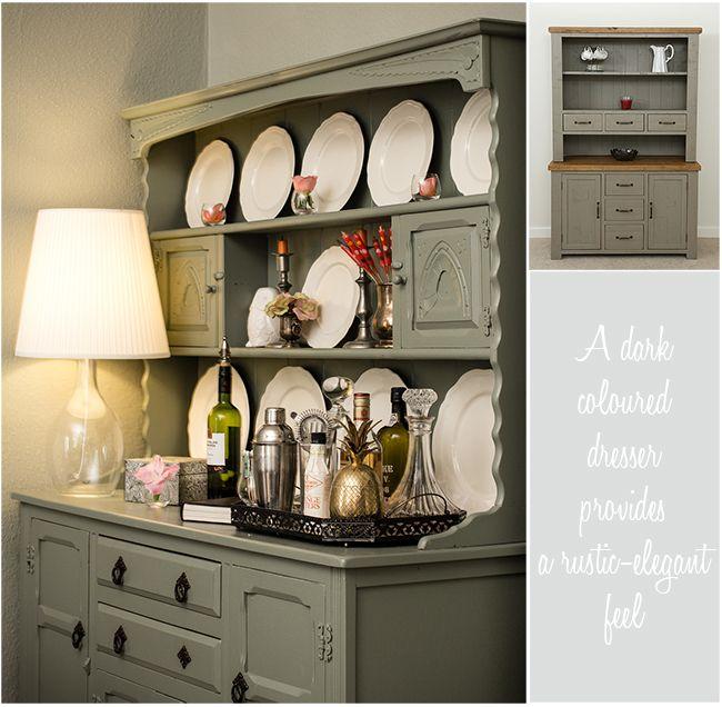 How To Style A Welsh Dresser By Carole Poirot Hutch Pinterest Welsh Dresser Dresser And