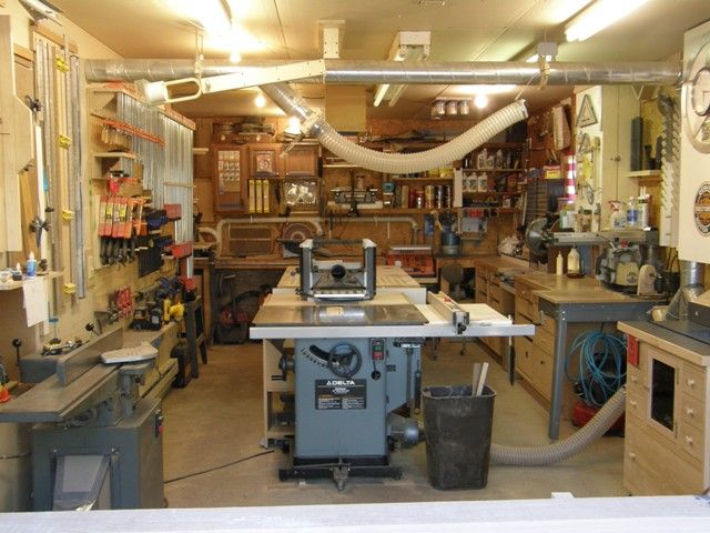 Small Shop Solutions Show Us Yours Wood Community Woodworking Shop Layout Woodworking Workshop Layout Woodworking Plans