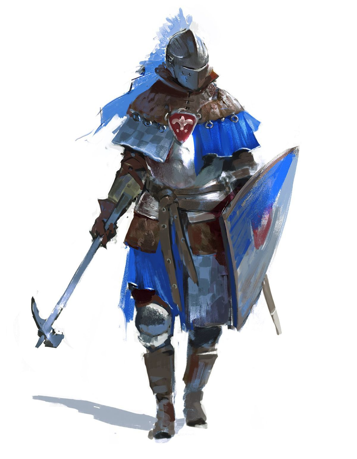 DnD Fighters/Paladins | Fantasy character design, Character art, Character design