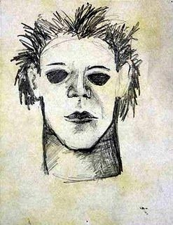 Pencil Drawing Of Michael Myers Halloween Miketorriart
