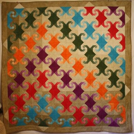 MONKEY WRENCH QUILT SQUARE PATTERN | CREATIVE PATTERNS