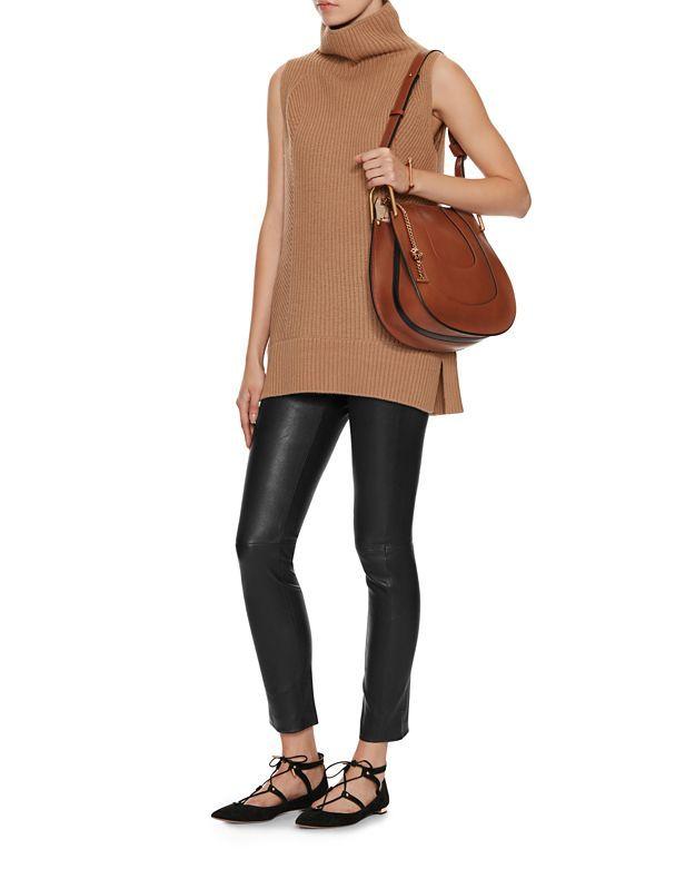 d82c72a8 Chloe Hayley Small Leather Hobo: Tan | Shop IntermixOnline.com | My ...