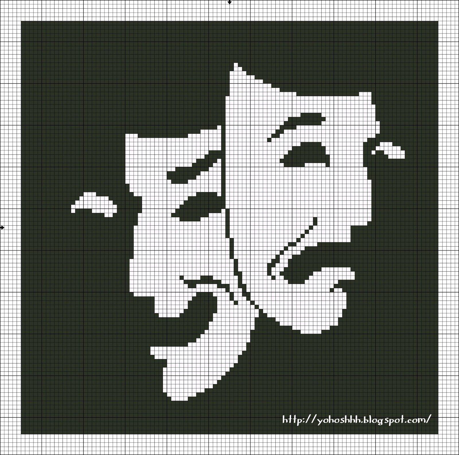 máscaras de teatro | punto de cruz | Pinterest | Punto de cruz ...