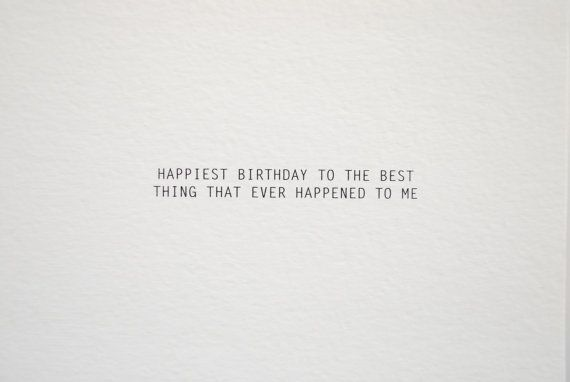 Birth Day QUOTATION – Image : Quotes about Birthday – Description Happiest Birthday Card for He