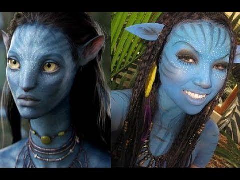 Neytiri Avatar Makeup Tutorial Kostum Idee Zu Karneval Halloween