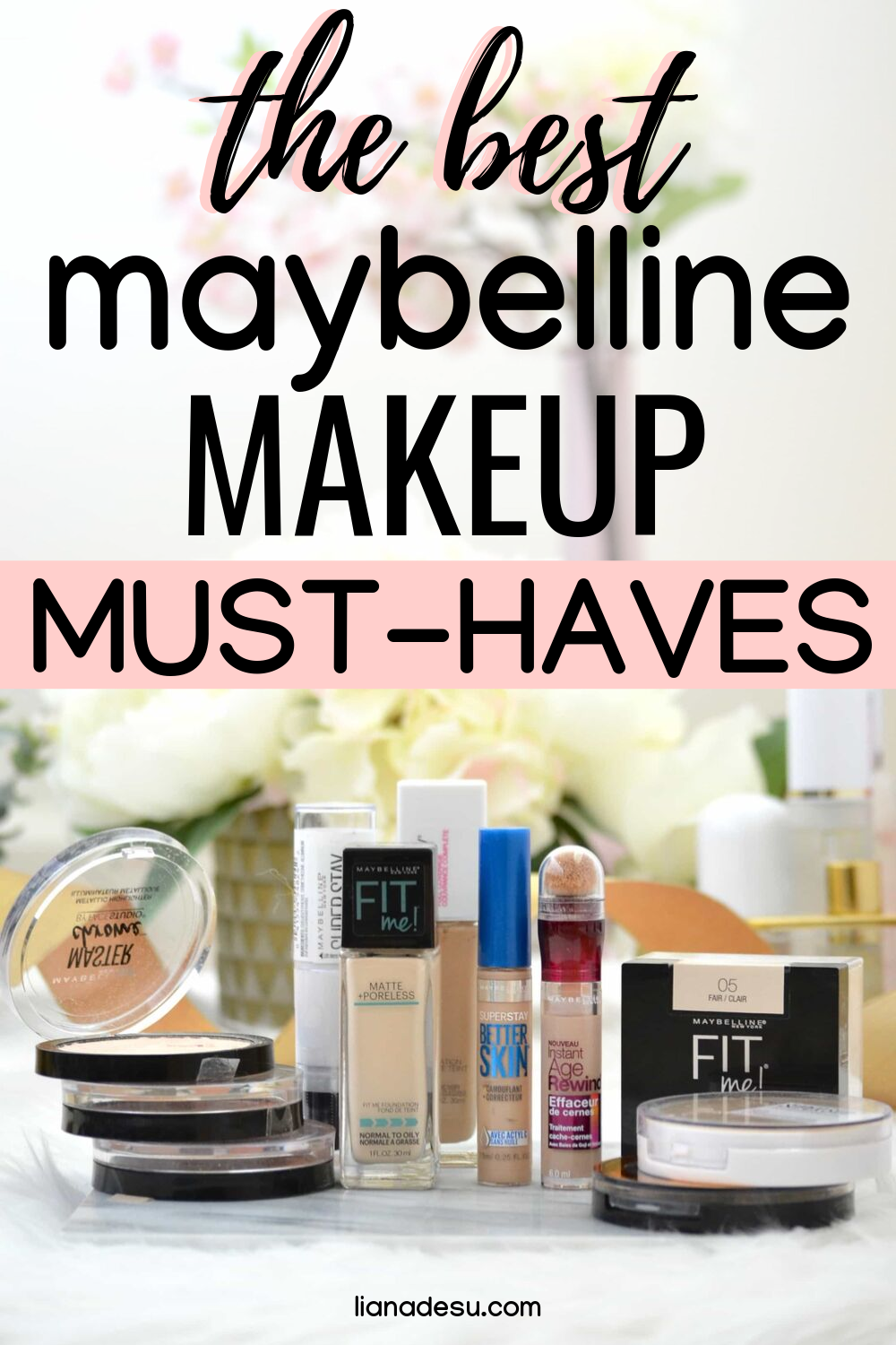 Best Of Maybelline Top 10 Products Liana Desu Maybelline Drugstore Makeup Beauty Products Drugstore
