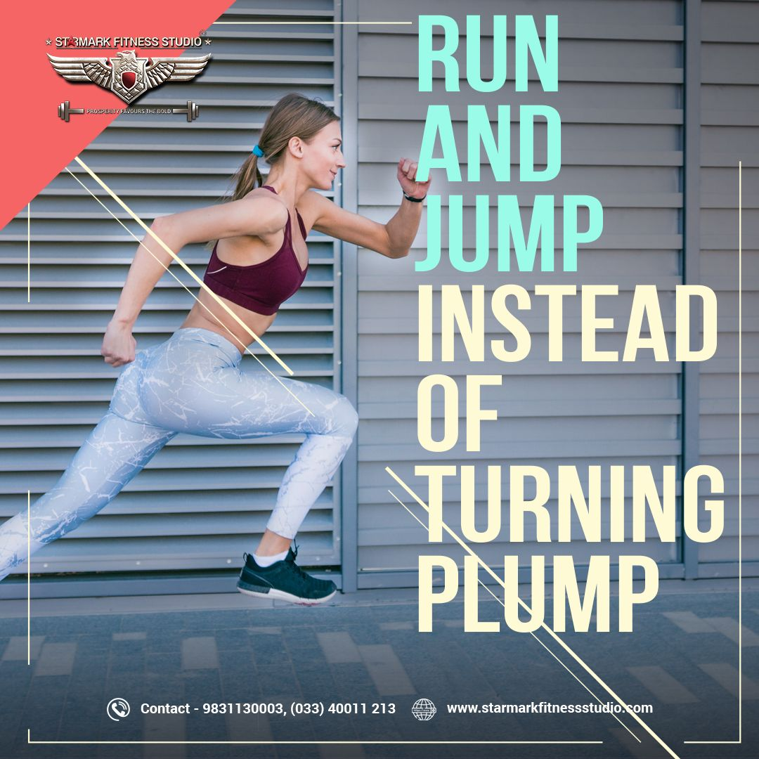 Run And Jump Instead Of Turning Plump Starmark Best Gym Fun Workouts Workout Programs