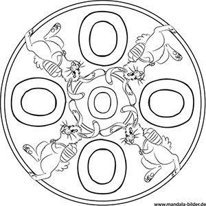 buchstaben mandalas - abc ausmalbilder zum ausdrucken   ausmalbilder zum ausdrucken