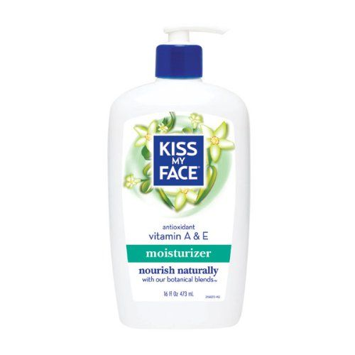 Kiss My Face Natural Body Moisturizer with Vitamins A  E16oz *** To view further for this item, visit the image link.