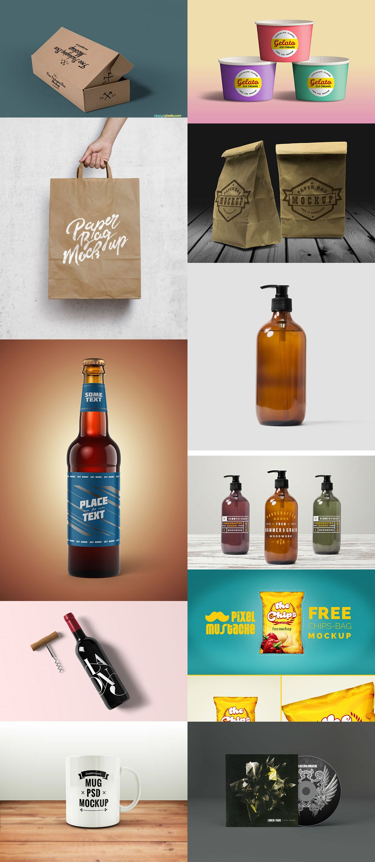 Download 105 Product Packaging Mockups Free Premium Packaging Mockup Packaging Free Mockup