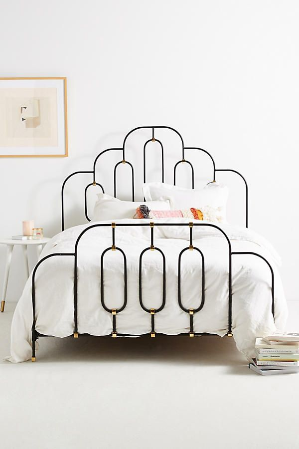 Art Deco Bed Frame Simple And Perfect Curves Remodel Bedroom