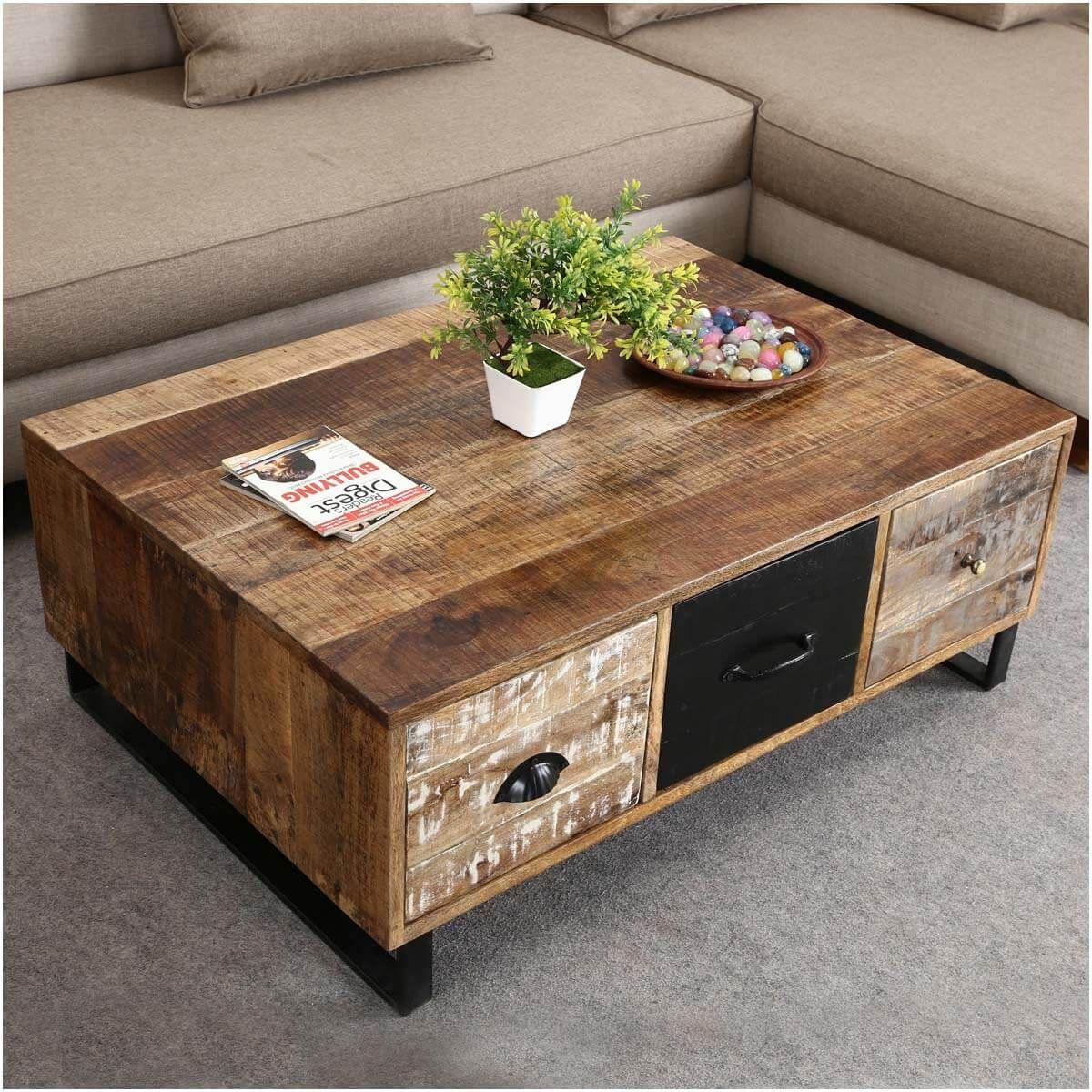 Industrial Pioneer Mango Wood Iron Coffee Table 3 Drawer Chest In 2021 Iron Coffee Table Coffee Table Quirky Furniture [ 1200 x 1200 Pixel ]