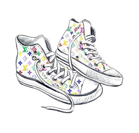 Converse | For the love of art! | Sneaker art, Converse ...