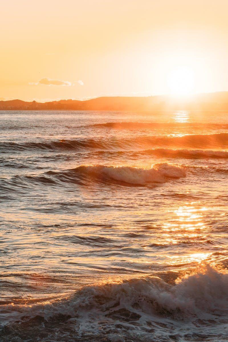 Free Stock Photo Of Landscape Sunrise Sunset Warm Photographygoldenhour Golden Hour Photography Golden Hour Photos Sun Aesthetic