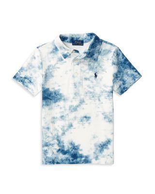 24688e23b1 Ralph Lauren Childrenswear Boys' Tie Dye Mesh Polo Shirt - Sizes 2-7 ...