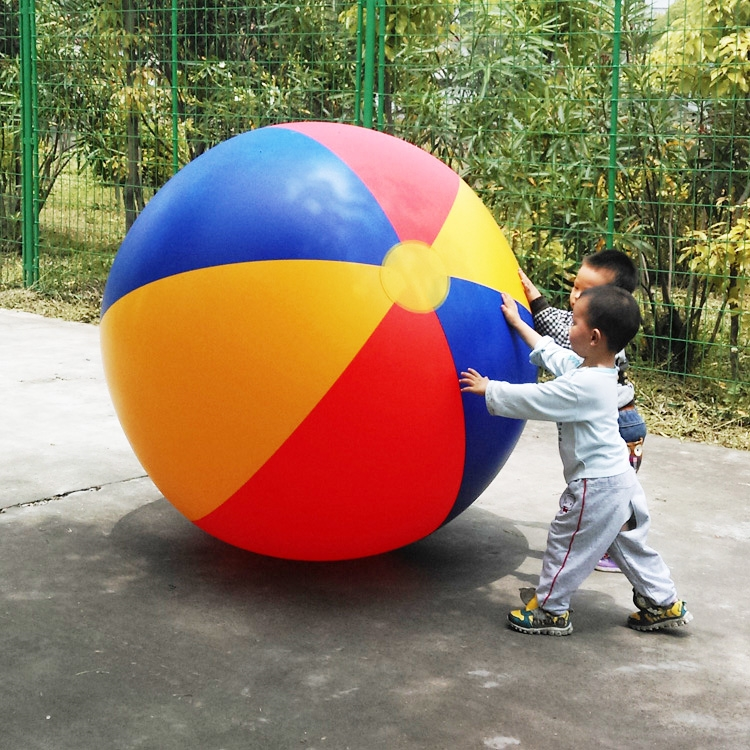 119.00$  Buy here - http://ali8ox.worldwells.pw/go.php?t=32768135970 - 130cm PVC Inflatable beach ball Water Play ball Outdoor games balls 119.00$