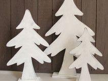Weisser Holz Tannenbaum Shabby Weihnachtsbaum Projects To Try