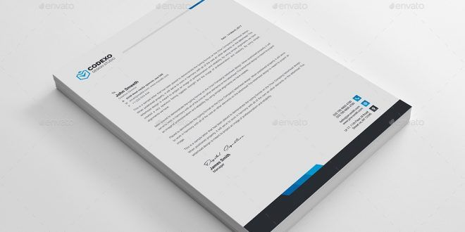 Letterhead templatedesign devisers a4 us paper size with bleeds features of letterhead template us paper size with bleeds cmyk 300 dpi print ready file 4 different color versions quick and ea spiritdancerdesigns Gallery