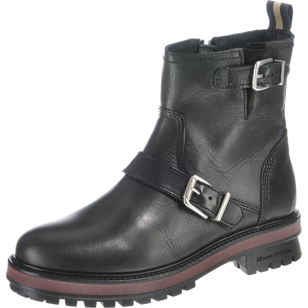 Marc O'Polo Boots Damen, Schwarz, Größe 42   Stiefel, Biker