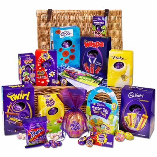 Pin by chelsea hughes on easter eggs enjoy your easter eggs xx the largest easter egg hamper from cadbury chocolate the cadbury ultimate easter basket packed with classic cadbury easter eggs and new eggs for negle Images