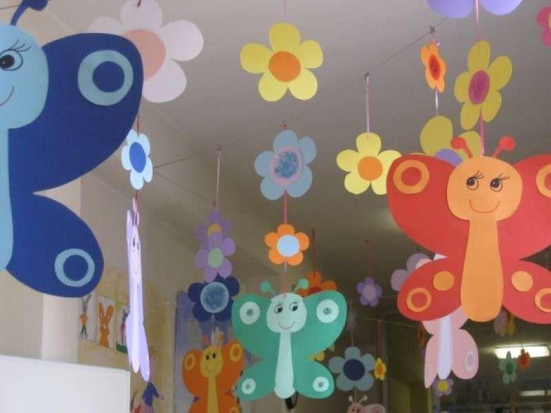 Risultati immagini per addobbi aula scuola infanzia for Addobbi scuola infanzia