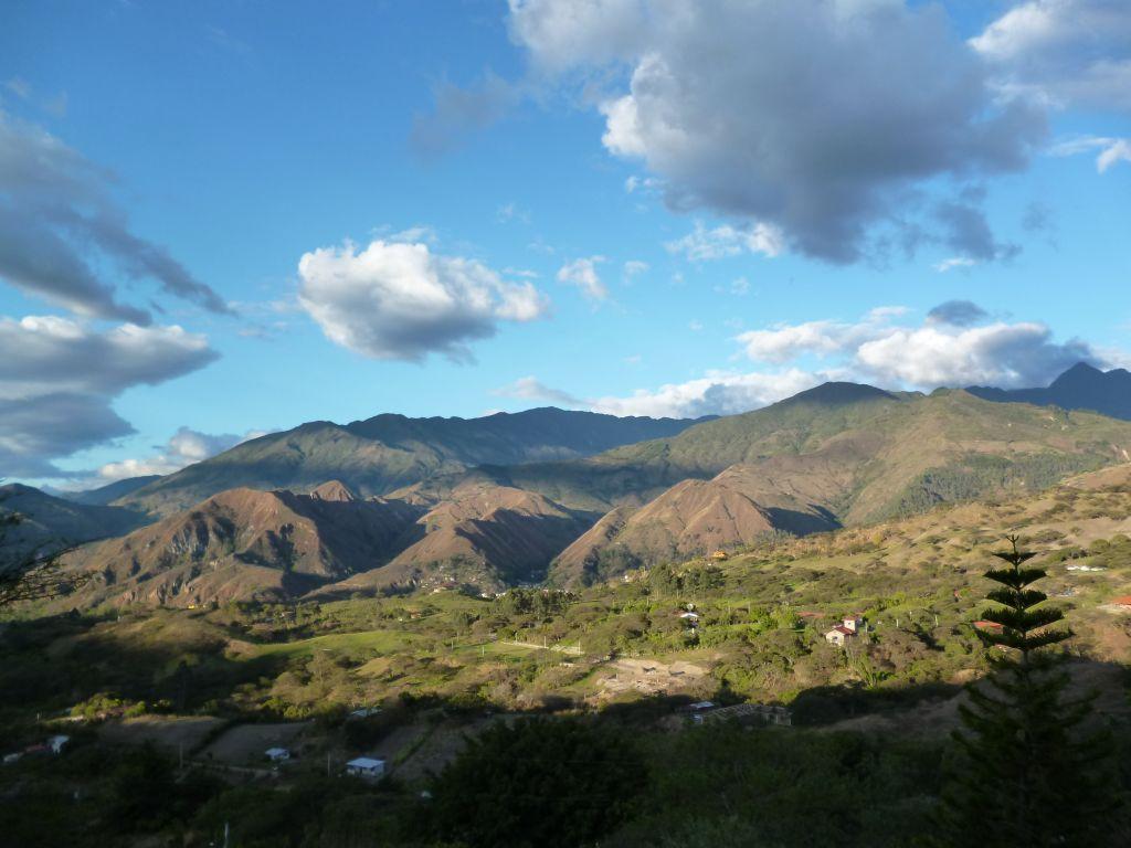 The sky from Izhcayluma, Vilcabamba, Ecuador