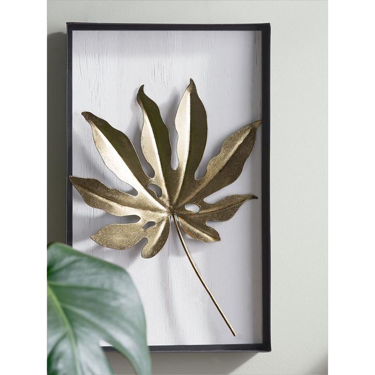 Beliani Curium Wanddecoratie Moodboard Decoratie Goud