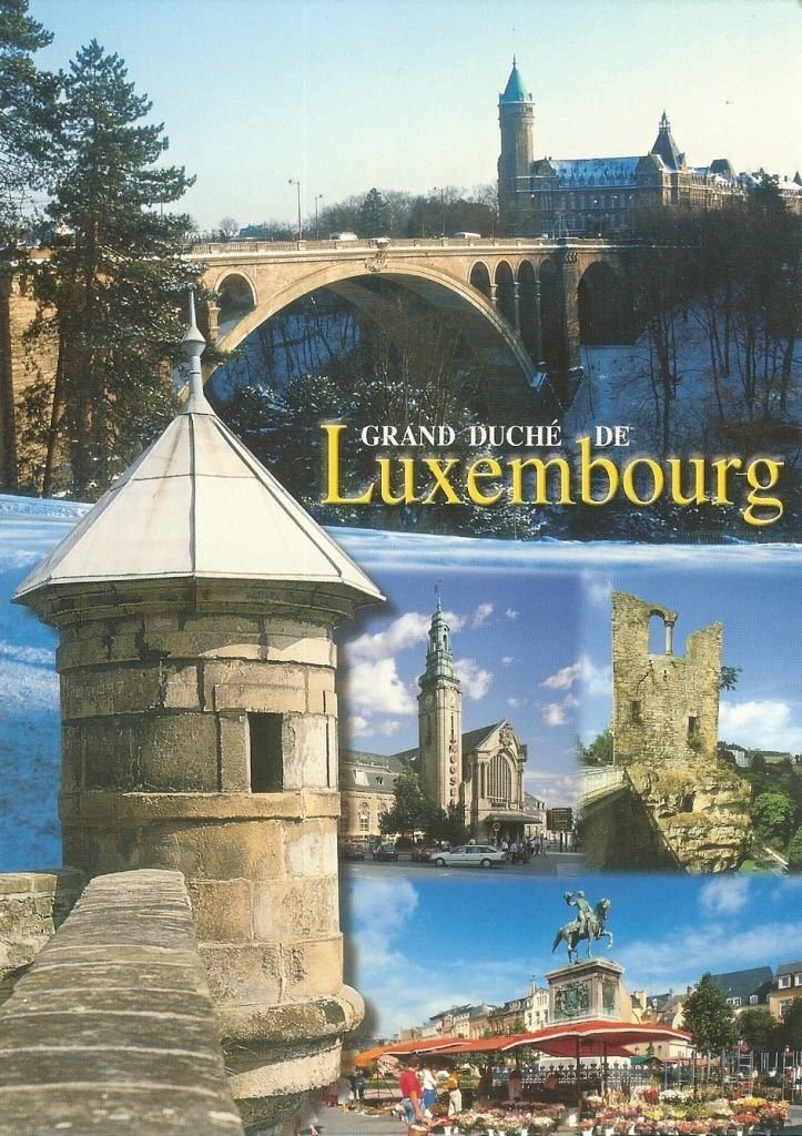 Pk0713 Grand Duche De Luxembourg Country Names Countries Around The World Around The Worlds