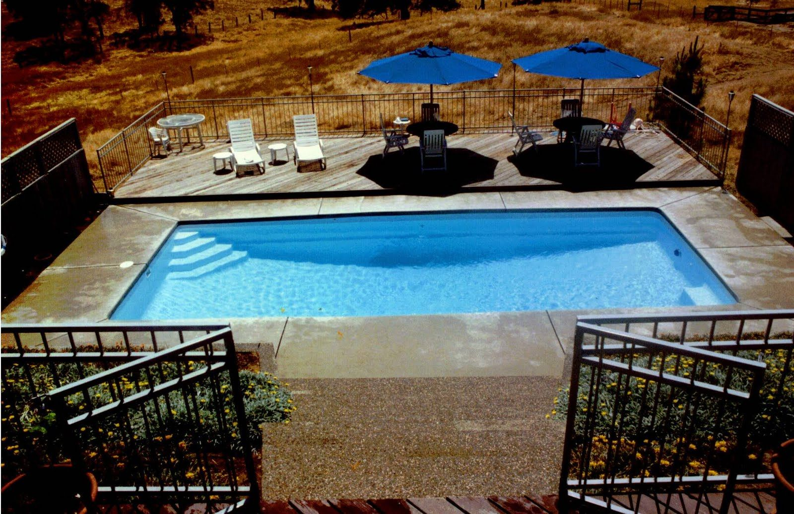 Rectangle Pool Design Landscaping Rectangle Designs