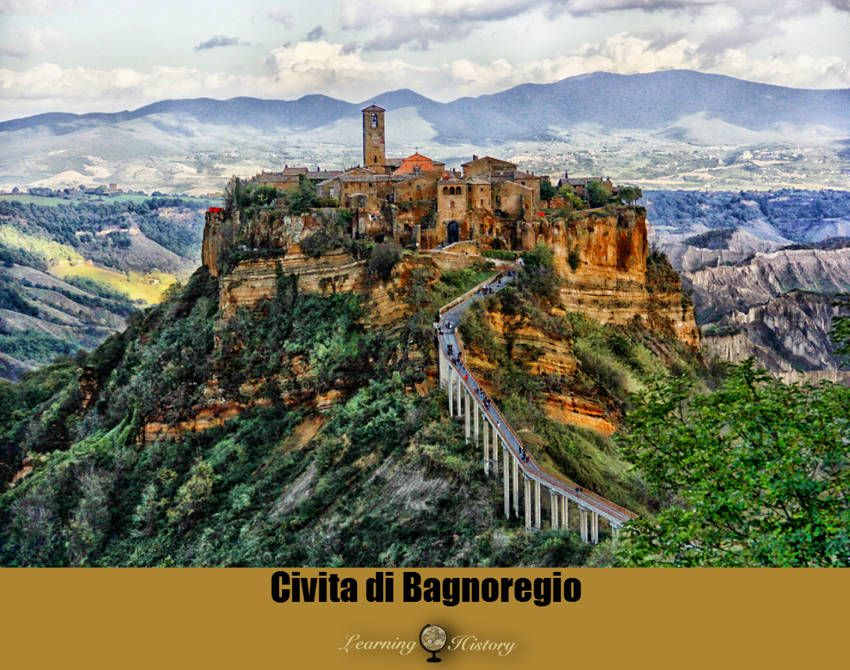 Civita Di Bagnoregio Historic Town In Italy Most Romantic
