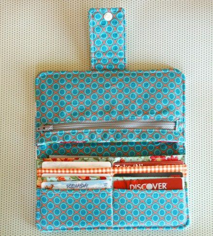 My New Wallet | Pinterest | Sewing projects, Wallet tutorial and ...