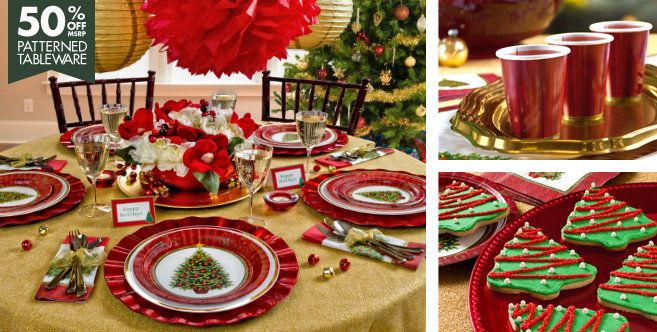 Twinkling Tree Christmas Party Supplies Party City Classic Christmas Tree Christmas Tableware Christmas Party Supplies