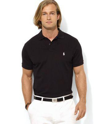 b39c2e57563 Polo Ralph Lauren Custom Stretch-Mesh Polo Shirt - Slim Fit ...