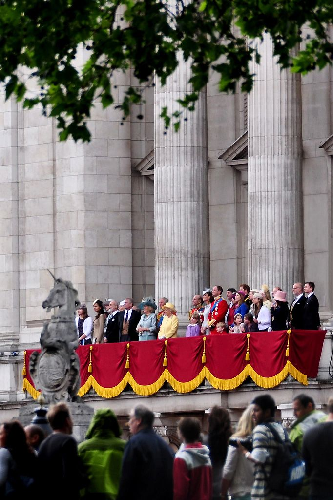 Royal Family - Trooping the Colour, Buckingham Palace, London - June 2012