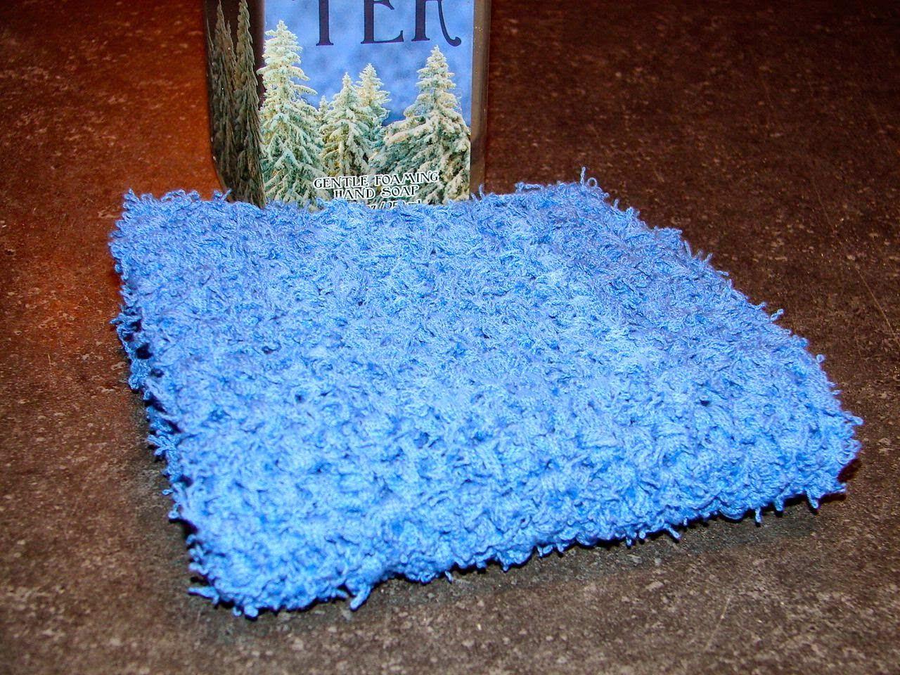 Easy Peasy Dish/Face scrubbie using Mary Maxim scrubit yarn   Scrub ...
