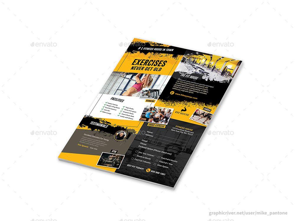 Fitness Gym Print Bundle 5 #Ad #Gym, #Ad, #Fitness, #Bundle, #Print