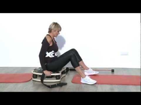 Vitalmaxx Vibrationstrainer: Übungen mit Barbara Klein und