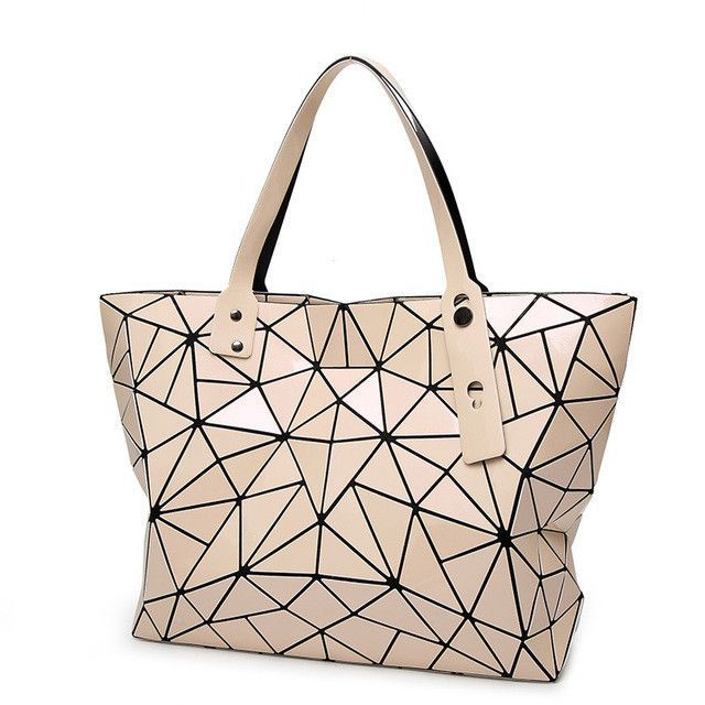 BaoBao Bag Female Folded Geometric women Bags BAO BAO Fashion Casual Tote  Women Handbag Ladies Shoulder Bag Handbags With LOGO 19a82563899f1
