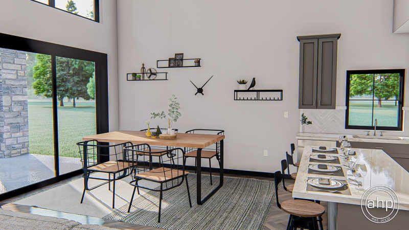 Post Frame Home/Barndominium Plan | Billings in 2020 ...