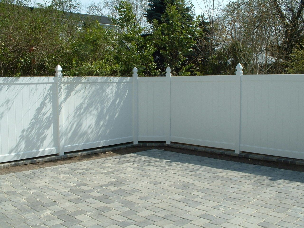 Pvc white fence attractive vinyl fencing morden styles best garden pvc fence supplies baanklon Gallery