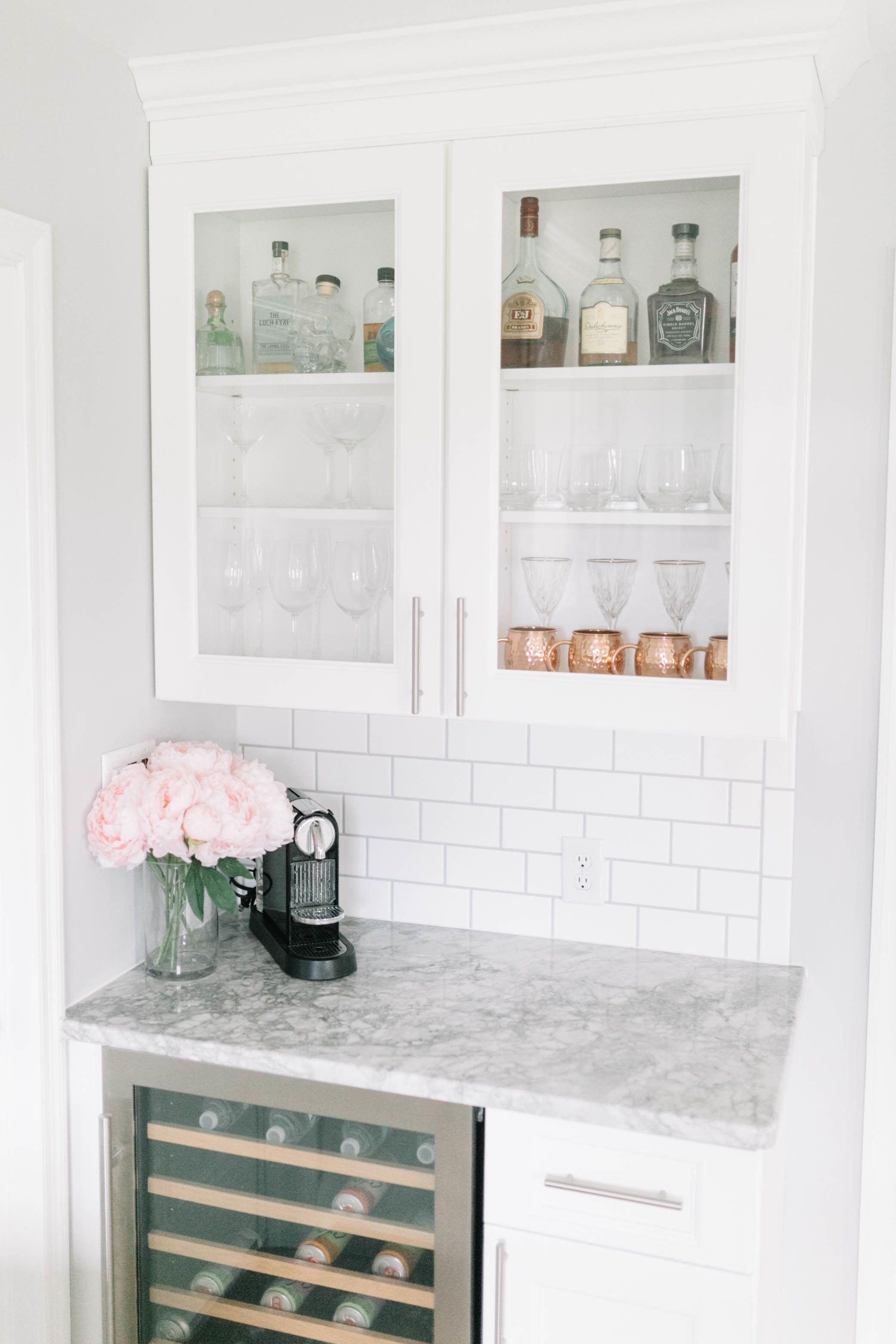 Renovating an 80\'s Style Kitchen into a Bright + Light Dream