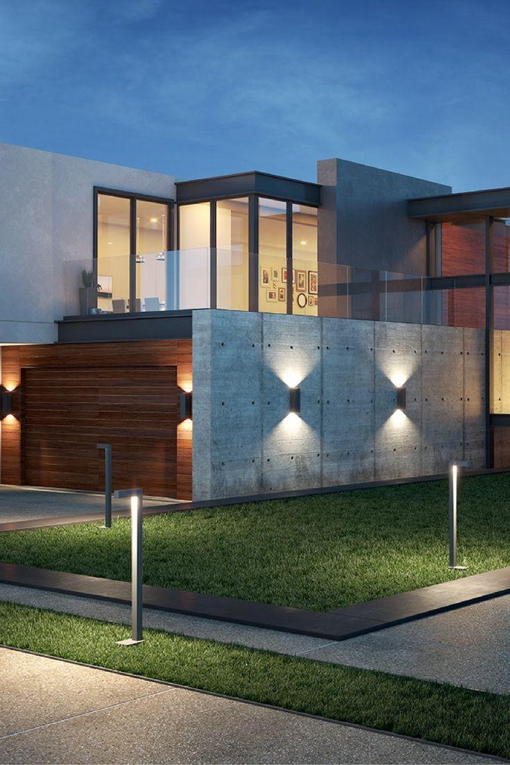 Subtle Understated Modern Design Characterizes Tegel Outdoor Led