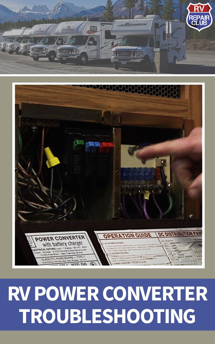 Rv Power Converter Troubleshooting Pinterest Electrical Wiring Distribution Center Can Show Whether The Problem Is In Or Outlet Itself Circuit Breakers Which