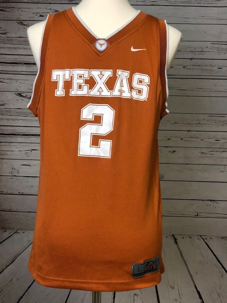 online store dfdae e739e Details about UNIVERSITY OF TEXAS BASKETBALL JERSEY XL #14 ...